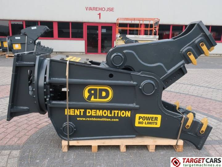 Rent Demolition  RD20 Hydr.Rot Crusher Pulverizer Shear 2...