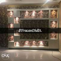 Abuja's number one wallpaper professional. Call Fracan Wallpapers now