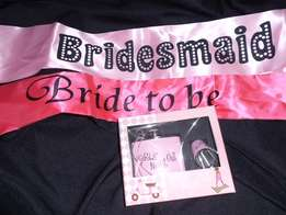 Brides Maid Party Items