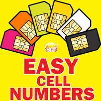 Cell numbers for sale- EASY digits and 786
