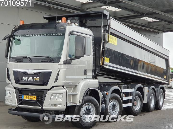 MAN TGS 49.440 M 10X4 Euro 6 HYVA Wierda-axle - 2014