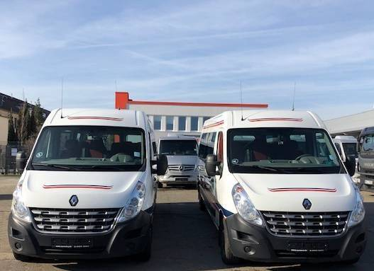Renault Master 2,5 DCI/ 17 Sitze/2x Klima/ EURO 5/ Maxi/ - 2012