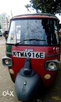 Tuktuk with a new engine and in good condition.
