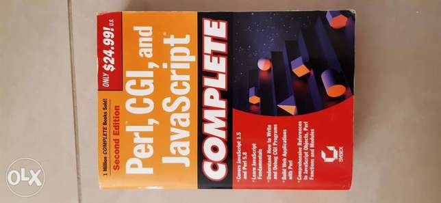 Perl, CGI and JavaScript complete - Sybex