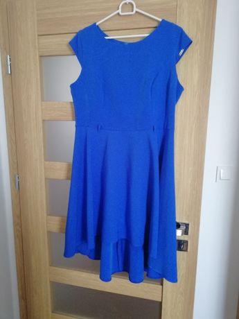 4d2f96f5c1 Chabrowa sukienka na sprzedaz rozmiqr 44 - Legionowo - Sprzedam sukienkę że  zdjęcia rozmiar 44 asymetryczna