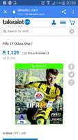 Fifa 17 Xbox one game