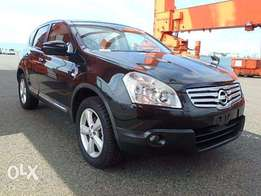 Nissan dualis optional 4wd 2g panoramic sunroof kcn