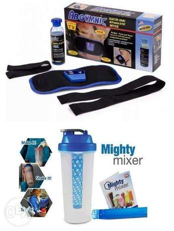 Mighty Shaker with Ab Gymic Muscle