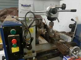 Lathe and milling