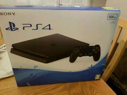 PLAY STATION PS4 SLIM 500GB CONSOLE BRAND NEW comes with control pad a