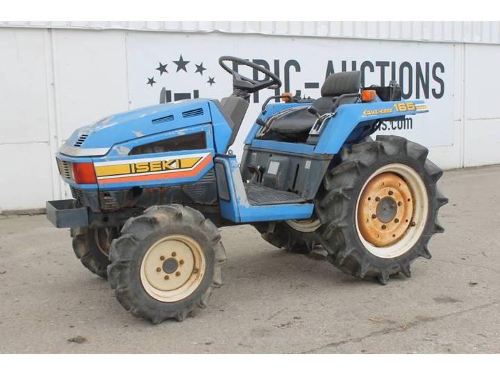Iseki Landhope 165 4WD Mini Tractor