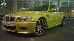 Bmw e46 m3 smg 2 for sale