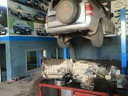Mitsubishi gearbox recondition