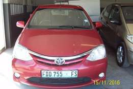 Very Neat Toyota Etios For sale
