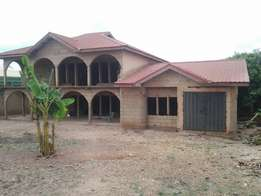 7bedrooms uncompleted house for Sale at Agric Kromoase 200000ghc