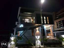 nicely built 4 bedroom duplex