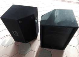 Powered Amp and Speakers