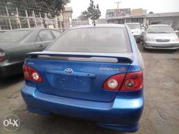 newly imported 2007 toyota corolla sport,accident free