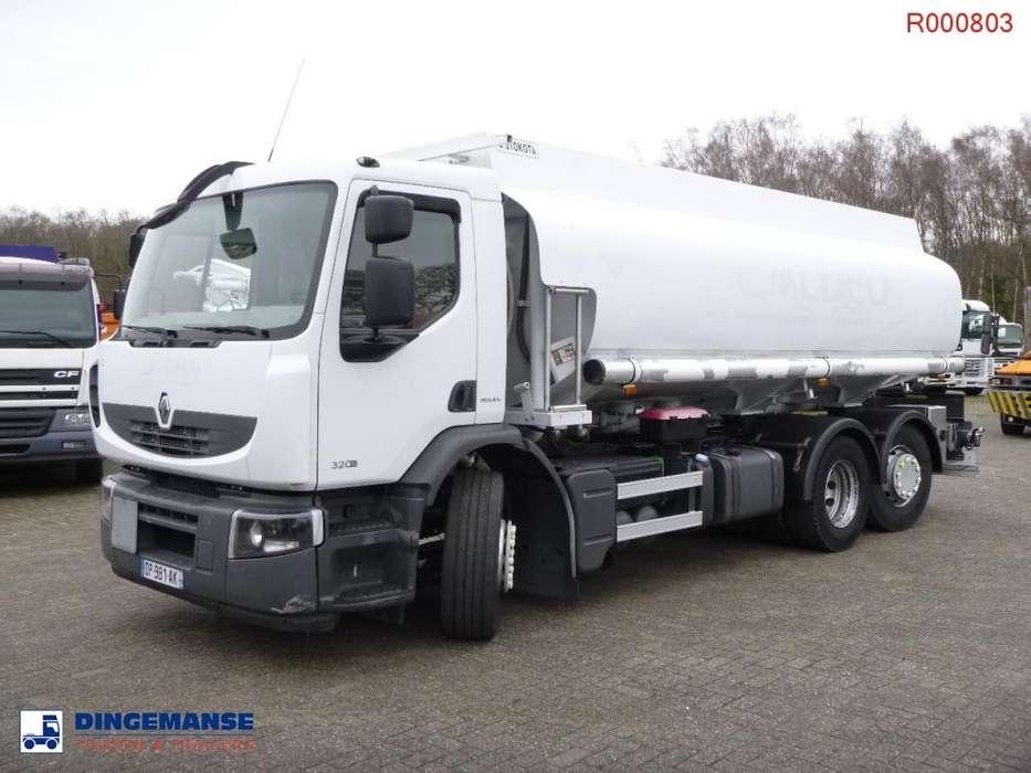 Renault Premium 320.26 6x2 fuel tank 18.8 m3 / 5 comp - 2008
