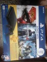 Brand New Super Slim PS4 with 3 games