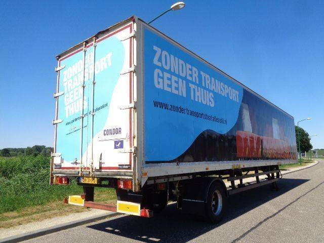 Spier 1-Axle City Box / Steering / 13.60 M / SAF / NL Trailer - 1993