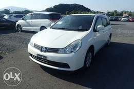 Nissan Wingroad Year 2010 Model Automatic White Color KCN