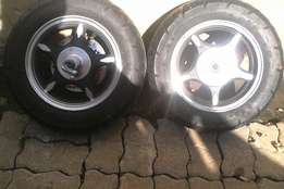 Scooter rims and tyres 10. Inch