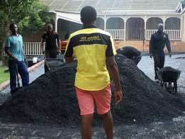 Tar surfacing and paving Industrial , residential , complexes etc