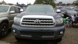 Toyota Sequoia 2013 Gray (Limited)
