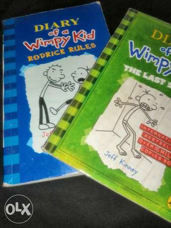 Diary of a wimpy kid all series available according to order