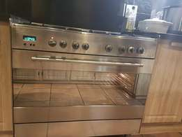 ELBA gas stove and electric oven 90cm