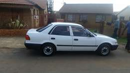 Urgent sale of Toyota corolla 1.3