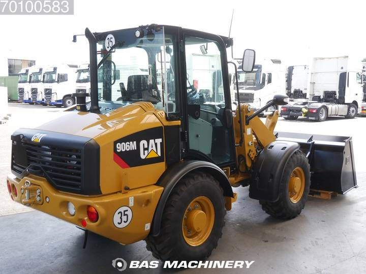 Caterpillar 906 M Bucket and forks - ride controle - warranty - 2019 - image 5