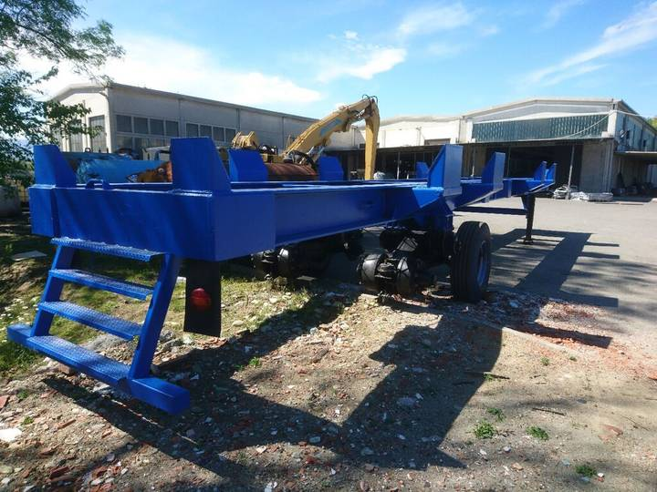 Trailer new el.port port  container chassis semi-