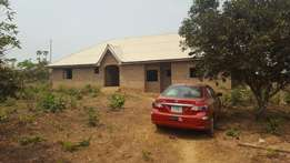 4 Bedroom Bungalow at Ilero Estate, Off Oleyo Road, Elebu, Ibadan