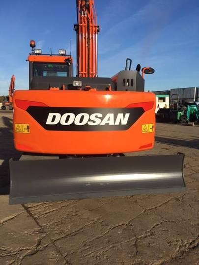 Doosan Dx 140 Lc-5, Uthyres - 2016