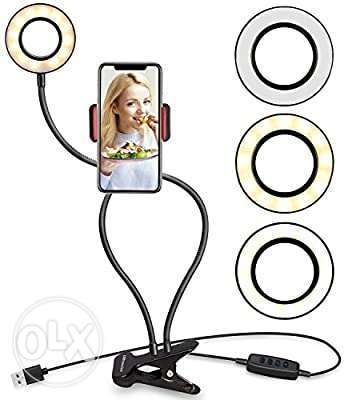 2 in 1 table ringlight stand | brand New Stock