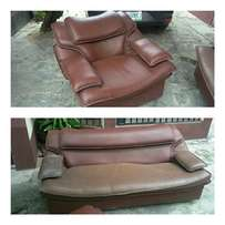 For Sale leather Seat chairs Brown