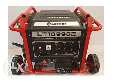 Brand New Lutian 9.3KVA Ecological Series Generator With Remote Ikeja - image 1
