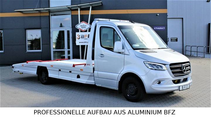 Mercedes-Benz Sprinter 319 LUFTFE. AB WERK*LED* S O F O R T - 2019