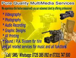 Professional Video and Photography Services