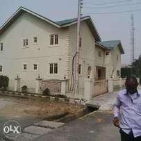 Twin 5 bedroom terrace duplex in Trans amadi gardens estate