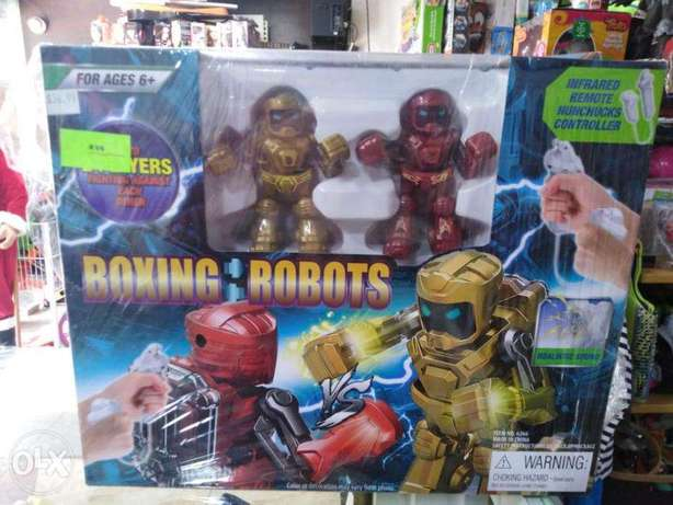 Boxing robots toy