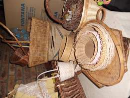 Selection of Woven Baskets