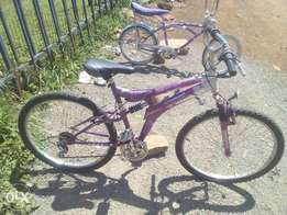 "size 26"" bikes, ex UK"