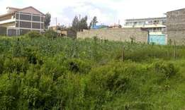 Half acre plot for sale behind Tuskys supermarket (section 58)