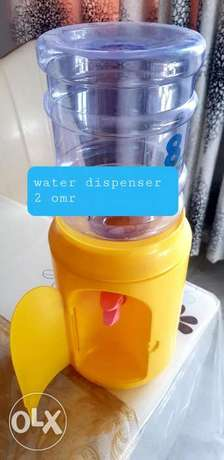 Water dispenser with jar for kids