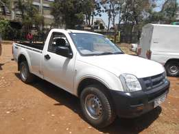 Low mileage and accident free Isuzu Dmax, local, diesel, 2WD.