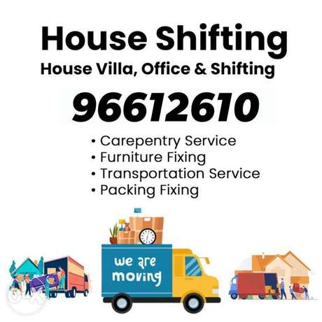 House office Villa moving packing transportation services