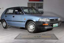 1993 Toyota Conquest 1300 with 138000km